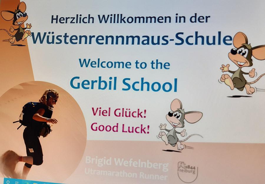 Banner Wüstenrennmausschule