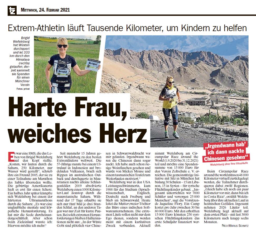 Münchner Tageszeitung Feb 2021