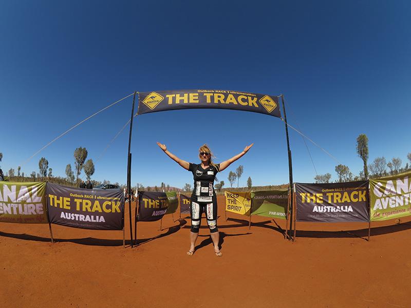 The Track, Zieleinlauf